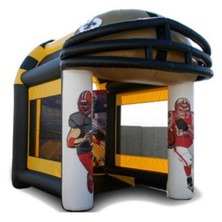 EZ Inflatables Football Toss Bounce House Multicolor   G158