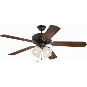 Ellington Fans ELF E204AG Pro 204 52 Ceiling Fan Motor only with Integrated Lig