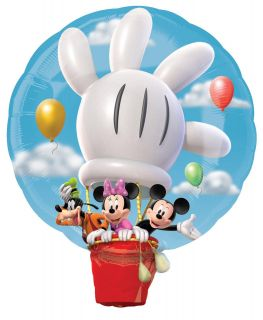 Mickey Hot Air Balloon Jumbo Foil Balloon