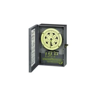 Intermatic T7401B Timer, 40A 4PST 7Day Mechanical Time Switch