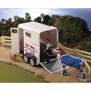 Breyer Traditonal Trailer In White