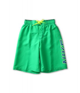Nike Kids Core Logo Volley Short Boys Swimwear (Green)