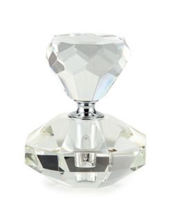 Diamond Shaped Crystal Perfume Bottle