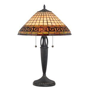 Quoizel TF1580TVB Tiffany Andros Tiffany Table Lamp