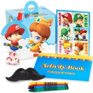 Super Mario Bros. Babies Party Favor Box