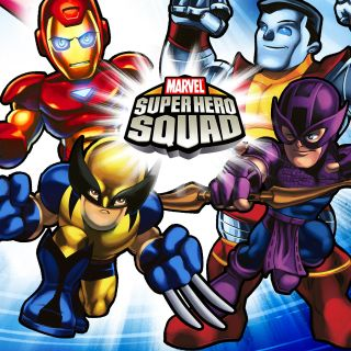 Marvel Super Hero Squad Beverage Napkins