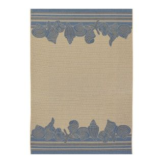 Couristan 3080 6813 Five Seasons Cream Indoor/Outdoor Rug Multicolor