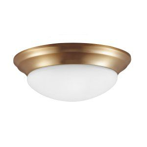 Sea Gull Lighting SEA 75436 848 Nash Three Light Ceiling FLush Mount
