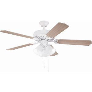 Ellington Fans ELF E205W Pro 205 52 Ceiling Fan Motor only with Integrated Ligh