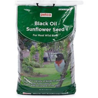 Black Oil Sunflower Seed Wild Bird Food, 17 lb Bag