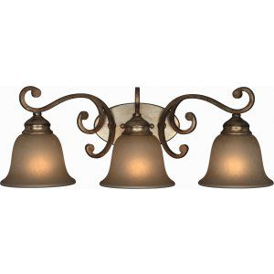 Crystorama Lighting CRY 7523 DT Shelby Shelby 3 Light Distressed Twilight Sconce